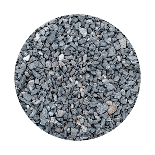 Gravel road surface texture
